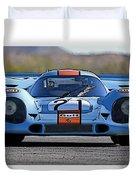 Porsche 917 Shorttail Duvet Cover