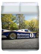 Porsche 962c Duvet Cover