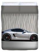 Porsche Beautiful Dream Sports Car Duvet Cover
