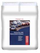 Porsche Carrera Cup 1992 Duvet Cover