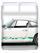 Porsche Carrera Rs Illustration Duvet Cover