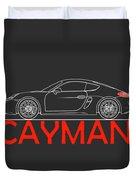 Porsche Cayman Phone Case Duvet Cover