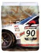 Porsche Gt3 Martini Racing - 01 Duvet Cover