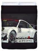 Porsche Gt3 Rsr Duvet Cover