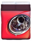 Porsche Headlight Duvet Cover