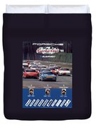Porsche Turbo Cup 1988 Duvet Cover