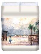 Port Alcudia Beach 01 Duvet Cover
