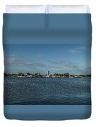 Port Charlotte Beeney Water Way From Beeney Duvet Cover