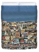 Port City Parga Greece - Dwp1163344 Duvet Cover