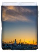 Port Credit 4 Duvet Cover