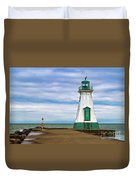 Port Dalhousie Lighthouse 1 Duvet Cover