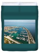 Port Di Pisa Duvet Cover