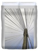 Port Mann Bridge Duvet Cover