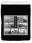 Port New Orleans Duvet Cover