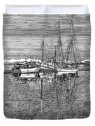 Port Orchard Marina Duvet Cover