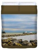 Port Washington Light 6 Duvet Cover