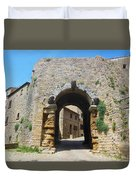 Porta All' Arco Volterra Duvet Cover