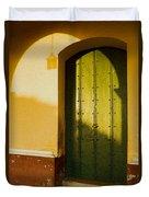 Porte Verte Duvet Cover
