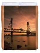 Portland Bridge Duvet Cover