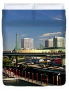 Portland East Bank Duvet Cover