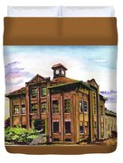Portland Gas And Coke Building Without Border Duvet Cover