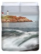 Portland Lighthouse Duvet Cover