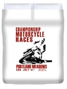Portland Meadows Duvet Cover