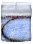 Portland Morning Abstract Duvet Cover