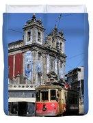 Porto Trolley 1 Duvet Cover