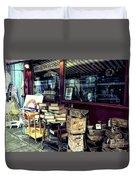 Portobello Road London Junk Shop Duvet Cover