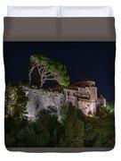 Portofino Bay By Night V - Notte Al Castello Duvet Cover
