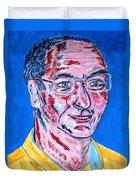 Portrait Dr. R. Meiritz Duvet Cover