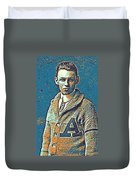 Portrait Of A Boy 24 By Adam Asar -  Asar Studios Duvet Cover