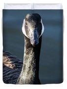 Portrait Of A Canada Goose Duvet Cover