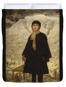 Portrait Of A Child Duvet Cover