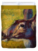 Portrait Of A Doe Duvet Cover
