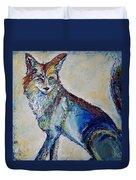 Portrait Of A Fox Duvet Cover