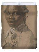 Portrait Of A Gentleman 1802 Duvet Cover