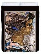 Portrait Of A Girl Pog2 Duvet Cover