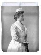 Portrait Of A Nurse Duvet Cover