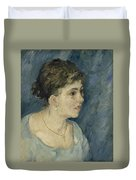 Portrait Of A Prostitute Antwerp December 1885 Vincent Van Gogh 1853  1890 Duvet Cover