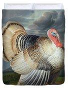 Portrait Of A Turkey  Duvet Cover