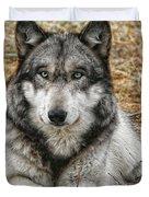 Portrait Of A Wolf Duvet Cover