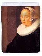 Portrait Of A Woman 1646 Duvet Cover