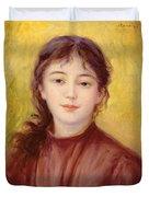 Portrait Of A Woman Duvet Cover