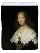 Portrait Of A Woman - Possibly Maria Trip Duvet Cover