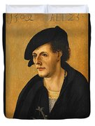 Portrait Of A Young Man Duvet Cover