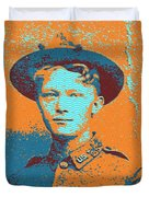 Portrait Of A Young  Wwi Soldier 4 Duvet Cover