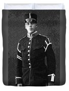 Portrait Of A Young  Wwi Soldier Series 13 Duvet Cover
