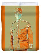 Portrait Of A Young  Wwi Soldier Series 14 Duvet Cover